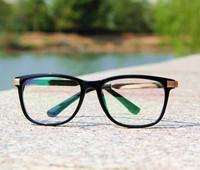 Free shipping! 2014 Most popular eyeglasses Men/Women big frame eyewear Fashion eye glasses High Quality have lens