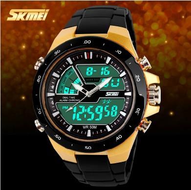 Брутальные мужские часы SKMEI 993 - YouTube
