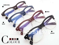 New 2014 Fashin Brand Optical Glasses Frame Designer Spectacle Frame Eyeglasses Vintage Glasses Professional Custom Optical Lens