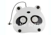 Lovely panda fan notebook radiator USB cooler cartoon cooling rack 28X23cm free shipping