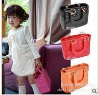 Baby Girls Fashion Bags Girls Accessories Kids Handbags Children PU Party Bags 1  pcs/lot