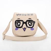 2014 New fashion pu leather bolsa de franja cartoon personality all-match samll candy color messenger bag sacoche shoulder bag