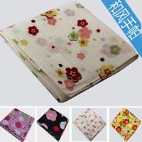 free shipping Endulge series 100% cotton print handkerchief big Size 100% cotton handkerchief squareinto