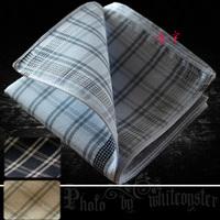 Handkerchief 100% male cotton handkerchief women's gift three-dimensional needle formal handkerchief vintage fashion !