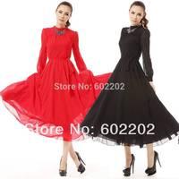 2014 New Fashion Sexy Elegant Womens Boho Evening Ball Gown Long Maxi Wedding Casual Retro Dress
