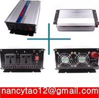 HOT SALE!! 2000W Off Inverter Pure Sine Wave Inverter DC12V to 220V  50HZ input, Wind Solar Power Inverter