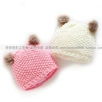 Baby winter warm hat beanie hat cute pocket children hat