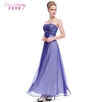 Betty 2014 formal dress tube top fashion blue slim evening dress full dress 09988