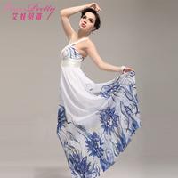 Betty chiffon one shoulder fashion elegant formal dress