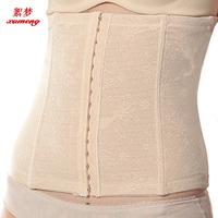 Women Magic Shaper Slim Body Shaping Slimming Band Belt Waist Cincher 2 lines Hooks Girdle Corsets Bustiers L-XXXL Free shipping