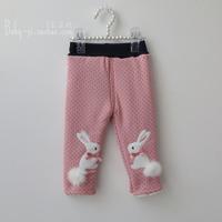 Child trousers children's clothing female child legging thickening little girl legging autumn and winter baby legging plus