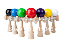 Via Fedex/DHL 200pcs/lot 25x8CM Professional Jumbo Kendama Toy Japanese Traditional Wood Game Kids Toy PU Paint & Beech