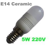 Wholesale 5pcs/lot Ceramic G9 led E14 5W 5730SMD 300LM Warm white white Non-polar LED Bulb Lamps High Lumen Energy Saving AC220