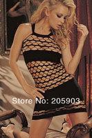 Free Shipping Sexy Mermaid Fishnet Club Chemise Wholesale 12pcs/lot Women's 2014 Newest lingerie Sexy Nightwear 21154