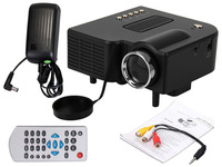 "60"" Portable Mini LED Projector Cinema Theater PC Laptop VGA/USB/SD/AV/HDMI"