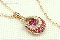 Austrian crystal jewellery women  necklaces & pendants Fashion tears of angels