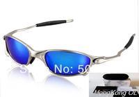 2014 New Best Quality Brand X Metal Sunglass Men's Women's Fashion Sports Sunglasses Frame Polarized Lens Gift Box Free Shiping