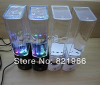 New 2014 USB Water Spray Mini Speaker Water Speaker Music Fountain USB Water Spray Speakers music fountain speaker Free shipping