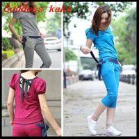 Best selling women clothing set women's sports sets jogging tracksuit clothing 2014 free shipping fashion casual women set S005