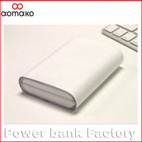 6PC/lot/Sweden shipping free  xiaomi 10400mah powers bank portable external battery charger aluminium alloy power bank charger