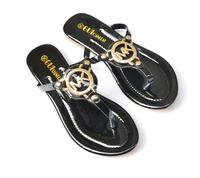 2014 lady's Sequins sandal women Beach home flip flops slippers flat sandals Student Shoes Flip-Flops