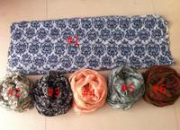 National wind restoring ancient ways ms totem blue and white porcelain printing BaLiSha shawl/lady head spring wraps