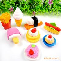 Rubber set Large fruit eraser 4pcs/set (MA)