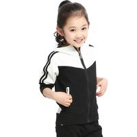 Children's clothing male child 2014 spring set female child set child sportswear