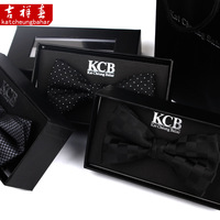 The groom married quality bow tie male female fashion bow tie black bow tie