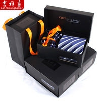 Six pieces set male formal tie marriage tie gift box business gift groom
