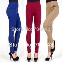 New Plus Size Women Pants Fashion Pencil Pants High Elasticity Pants&Capris XL XXL XXXL Causal Dress  Pants  Women Free Shipping