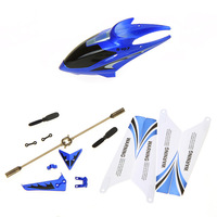 Syma Full Remote Control Toys Replacement Parts Set Quadcopter Spare Kit Head Cover Blades Propellers for S107G RC Helicopter