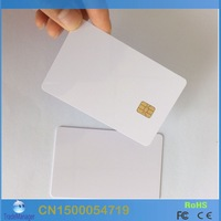 Free Shipping ( 20PCS/lot) PVC FM4442 Chip Contact  Blank Smart IC Card For ACR38U SPC/IPC Contact Reader