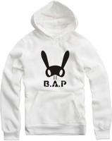 2014 New BAP bunny skateboard Men women Hoodies Cotton Hip Hop Sports Hoodie hooded sweater coat Hoody Jacket Hood By Air