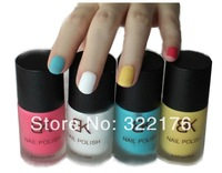 [ Life Art ]  26pieces/lot 15ml 100% Excellent BK frosted matte nail Art nail polish lovely color style Professional