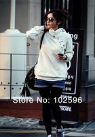 Big Size New 2014 Spring Autumn Hoodies Sweatshirt Women Sport Suit Hoodie Pullover Fleece Warm Sweatershirts Girls Plus Size