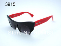 Brand new 2014 fashion designer popular  women sunglasses MUMU 53OS  trend Cat Eye sun glasses vogue eyewear best quality 7cols