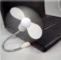 2014 Summer New Snake Shape Mini USB Fan Free Bending Any Angle Laptops Necessary LJ09282