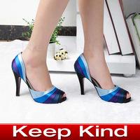Free shipping Red bottom high heels shoes high heel sandals fish head platform women pumps shoes wedding shoes HL-2931