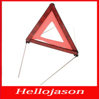 5247 Free shipping for retail by China post SILVERLINE WARNING HAZARD TRIANGLE  Triangle warning stents