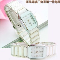 Good qualityLongBo white ceramic factory brand waterproof watches ladies fashion casual couple tables wholesale 321+free shippin