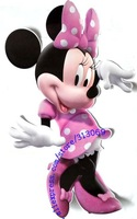 Free shipping , giant size Minnie wall sticker,  high quality wall decals