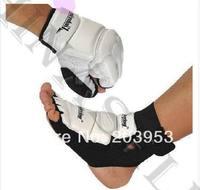 sanda boxing Karate Judo taekwondo sandbags gloves hand gauntlets Protector + nursing ankle fighting foot ankle protective gear