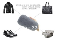 Free shipping Home Furnishing supplies  leather cleaning and care wool gloves brush brush  polishing shoes