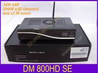 Last version DM800 HD SE  tv decoder satellite TV  receiver support 300M wifi sim a8p ALPS 801A M tuner dvb s2  free shipping