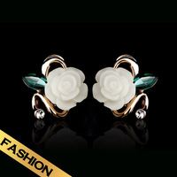 Special Stud Earrings Fashion Flowers Classic Vintage Handmade Design Free Shipping Jewelry Ear clips models EH13A1227601