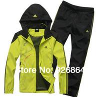 Spring sports suit male couples leisure fashion sportswear adolescent set