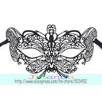 MJP-014B Butterfly Design Hollow Out Mask Fashion Carnival Halloween Mask Rhinestone Princess Masquerade Metal Mask ,50pcs/lot