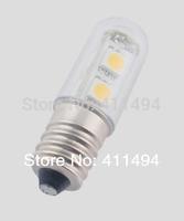 10pcs E14 1W 7LED 5050SMD 220V 240V White Mini Bulb Lights Led Indicator Lamp Cabinet For Fridge Refrigerator Freezer Chandelier