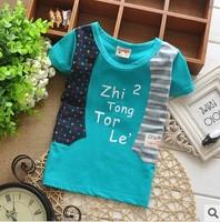 Футболка для девочек new Korean dot cotton short-sleeved T-shirt fashion